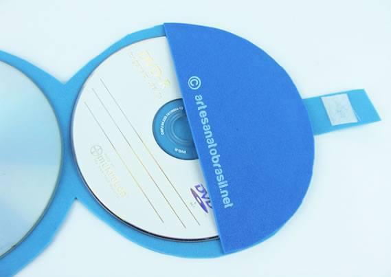 Reciclando CD velhos para criar um porta CD