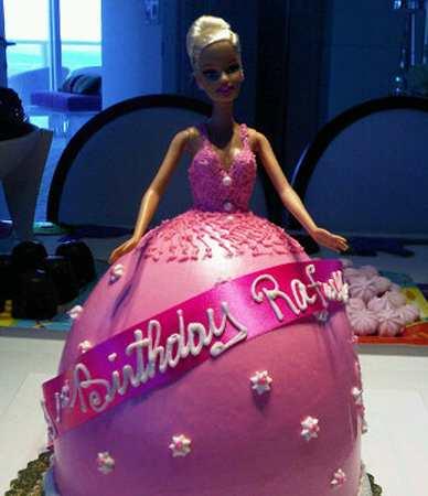 bolo aniversario barbie