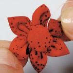 flor fuxico pontas