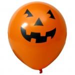 Balão pintado de morcego halloween