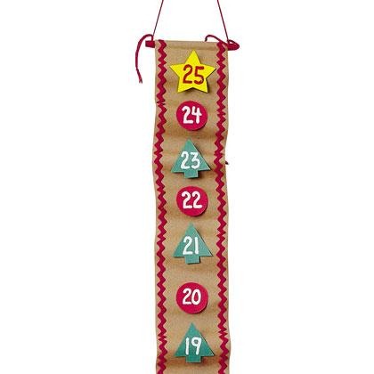 Artesanatos Natalinos Calendario Regressivo