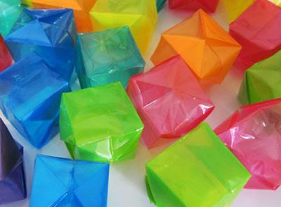 caixinha origami