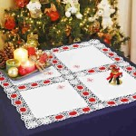 toalha croche natal