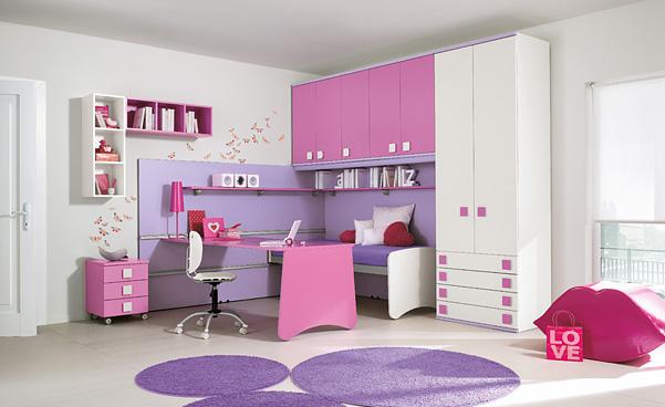 50 idéias de modelos de quartos decorados para meninos e meninas