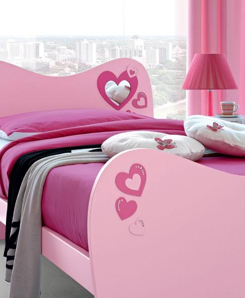 Detalhes da decoração da cama da Barbie