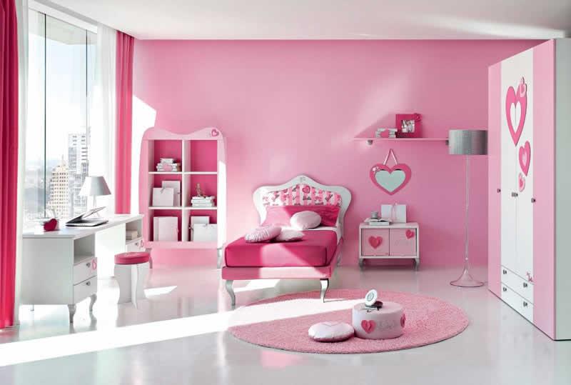 Quartos da Barbie completíssimo, cor rosa