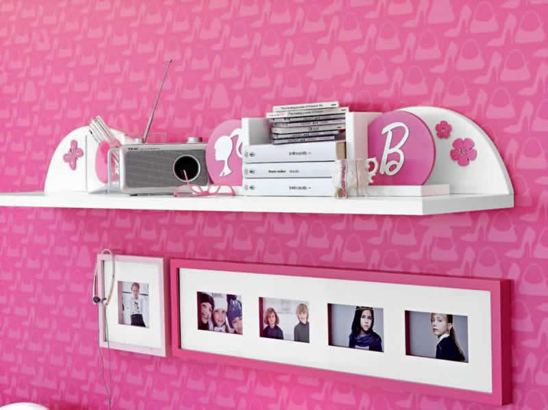 Detalhes: Estante da Barbie
