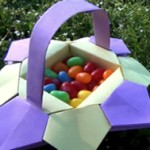 cesta pascoa origami