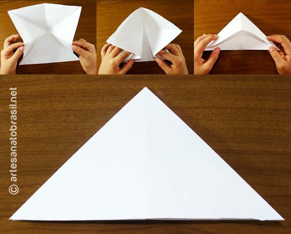 2. Balãozinho de papel passo a passo