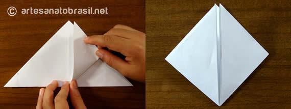 3. Balãozinho de papel passo a passo