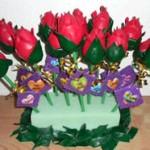 rosas de balao