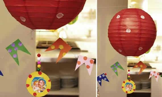 Decoração para festa junina com Balões de Seda