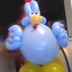 galinha pintadinha de baloes