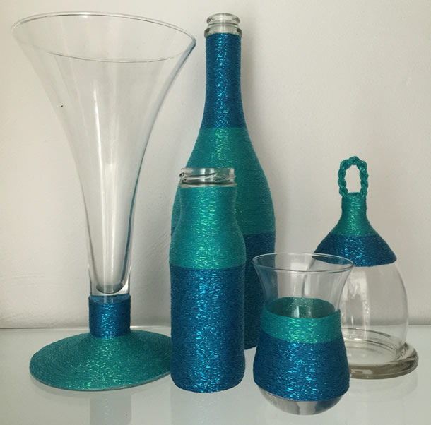 garrafas-decoradas-barbante-glitter-azul