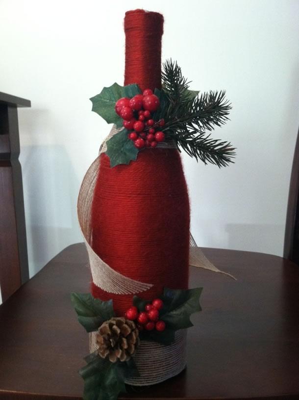 garrafas-decoradas-barbante-natal-vermelho