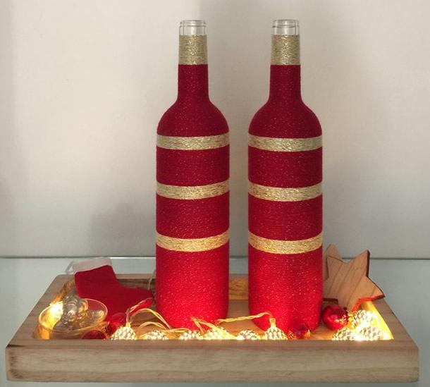 garrafas-decoradas-barbante-vermelho-ouro