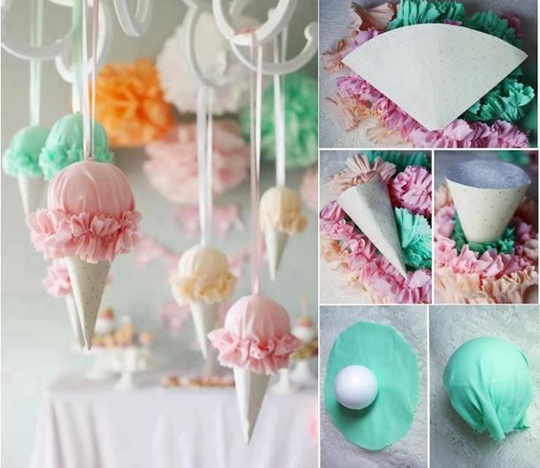 bodas-de-sorvete-guirlanda-tecido