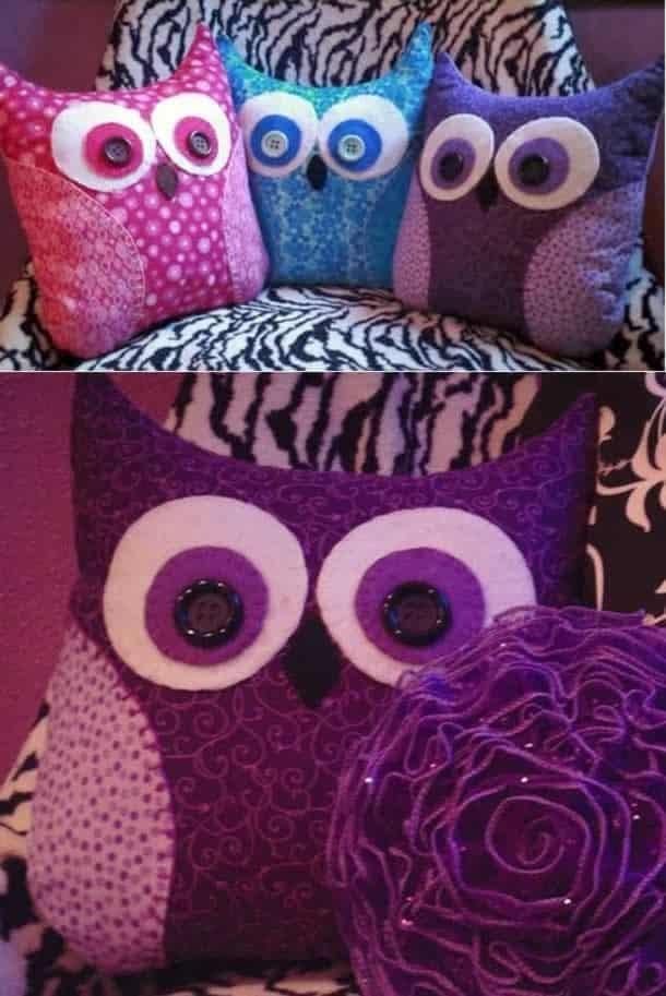 almofada-coruja-patchwork-decorativa