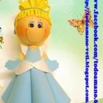 boneca eva princesa passo a passo