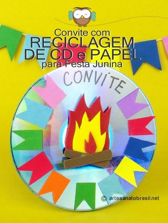 convite-festa-junina-com-reciclagem-de-cd