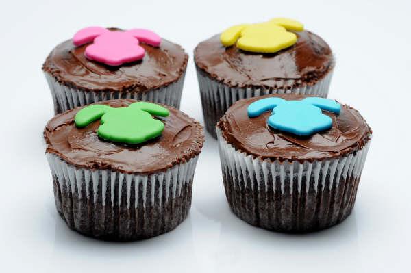 43 Sugestões de cupcakes de páscoa