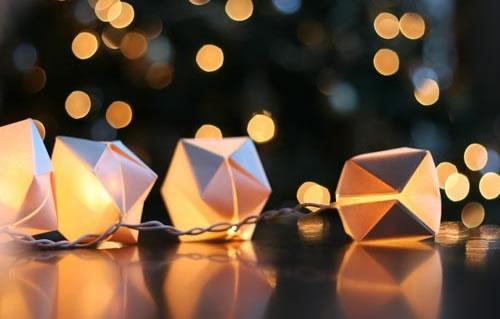 Balão de origami