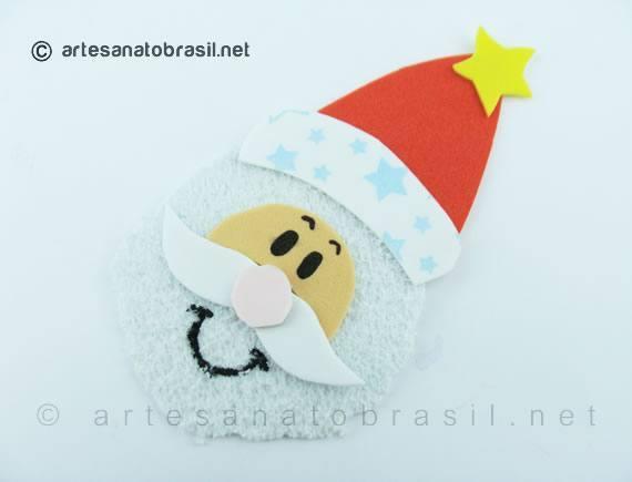 3.pintar-olhos-lembrancinha-natal-garrafa-pet-Papai-Noel