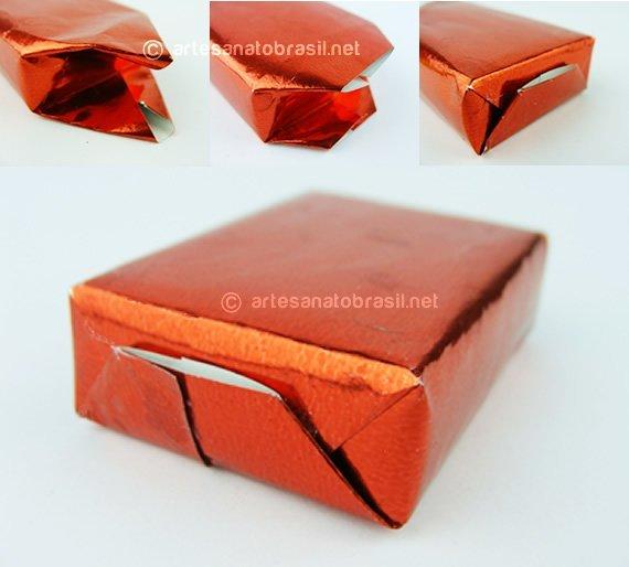 Dobrar-Caxinha-presente-caixa-de-fosforo-Enfeite-de-Natal