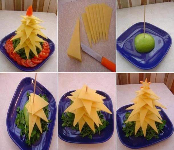 decoracao-de-pratos-bandejas-de-alimentos-para-natal-arvores-3d-queijo