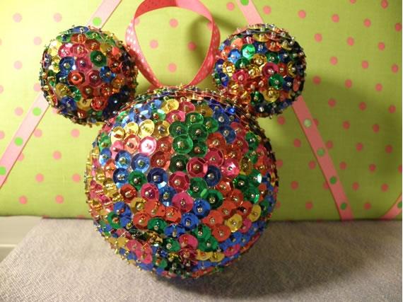 Bola de natal do Mickey Mouse
