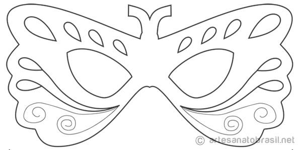 10 Mascaras De Carnaval Para Colorir Pintar E Brincar Baixe Aqui