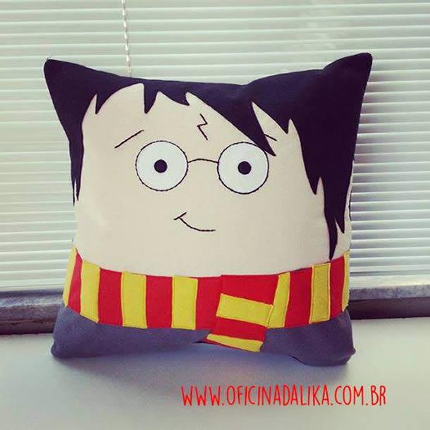Almofada do Harry Potter