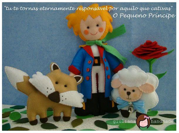 boneco-de-feltro-pequeno-principe