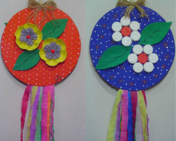decoracao-de-festa-junina-reciclavel-enfeite-com-cd
