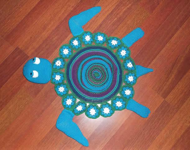 tapete-com-barbante-tartaruga-azul2