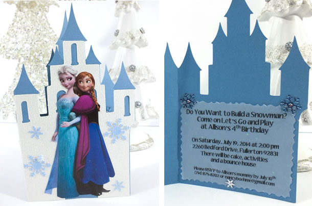 festa-frozen-convite-castelo