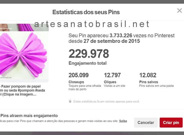 """Como Obtive """"3 Milhões de Visualizações"""" no Pinterest"""