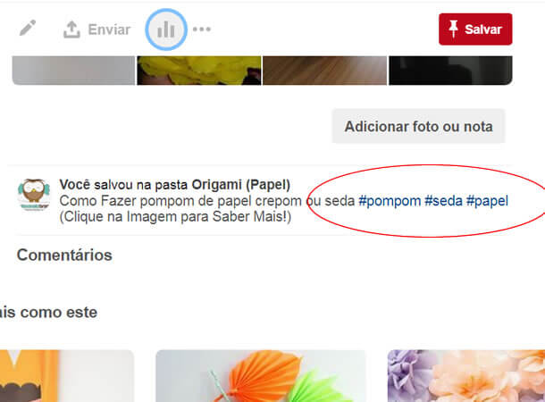 Como Utilizar Utilize Tags no Pinterest