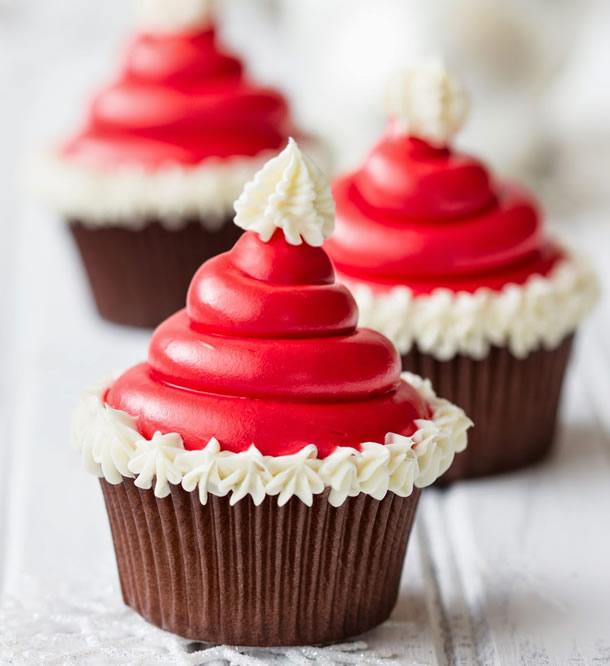 cupcake-de-natal-gorro