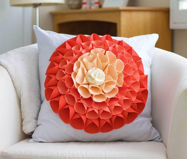 artesanatos-faceis-almofada-flor