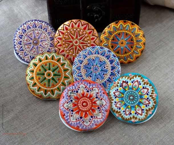 artesanatos-faceis-pontilhismo