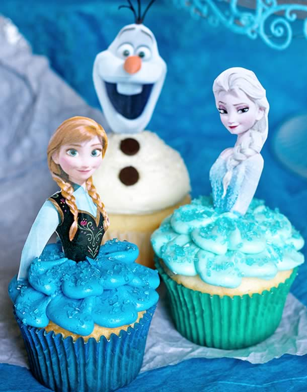 cupcake-frozen-floral