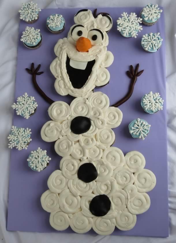 cupcake-frozen-olaf