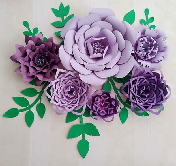 flor-gigante-de-papel-lilas