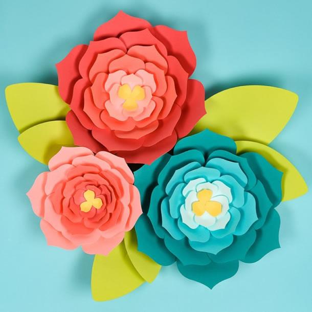 flor-gigante-de-papel-parede