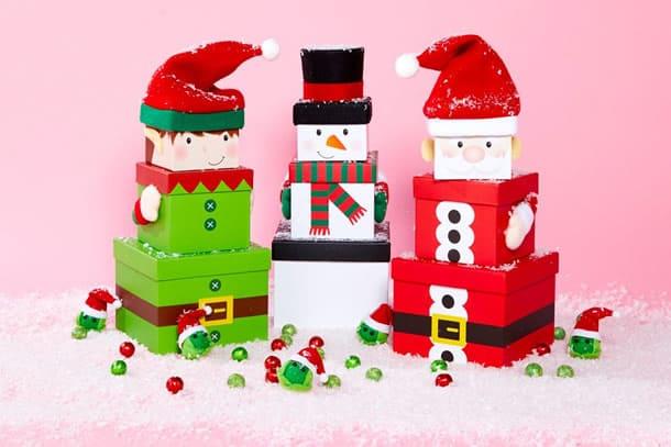 como-fazer-caixa-presente-natal