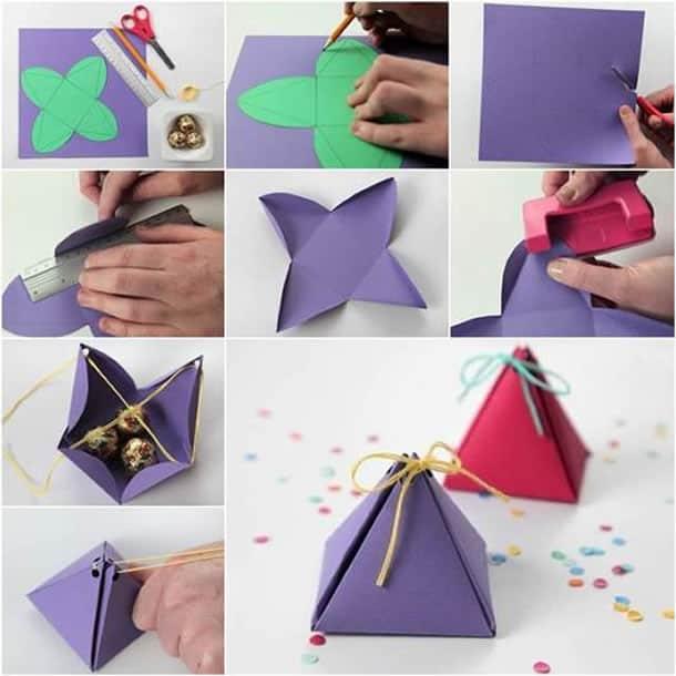 como-fazer-caixa-presente-piramide