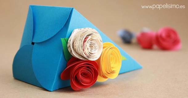 como-fazer-caixa-presente-triangulo