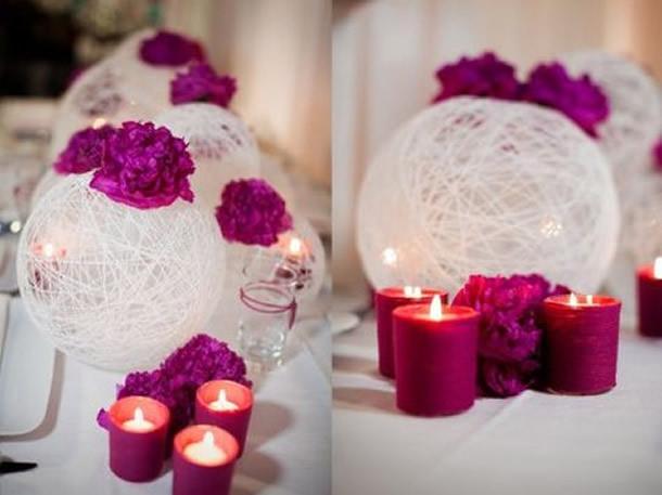 centro-de-mesa-para-casamento-bola-barbante