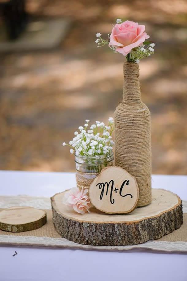 centro-de-mesa-para-casamento-garrafa-barbante